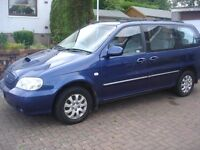 7 Seater Kia Sedona Automatic Long Mot