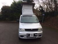 Mazda Bongo Camper van Free top P Reg Automatic Diesel fully Kitchen Fitted