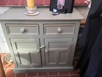 Free standing pine kitchen/dining unit