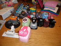 Craft materials/punches/papers/stamps/cutters/embossers/toppers etc