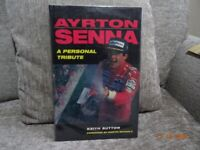 Ayrton Senna, A Personal Tribute, by Keith Sutton