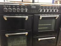 Stoves cooker duel fuel 7 burner gas 2 fan oven electric with grill 4 door for sale