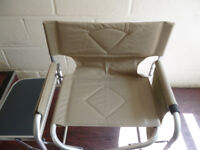 NEARLY NEW SQUIRES FOLDUP GARDEN CHAIR