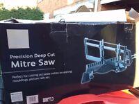B & Q Wood mitre saw