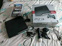 PS3 320GB with Move and 13 games