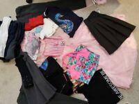 Girls 7-8 bundle of clothes + 2x shoes