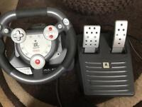 Ps2 / Ps1 Steering wheel and pedals