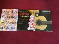 3x Classics guitar books