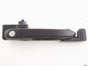 Door Handle Outer Front Passenger Side Textured Black Hyundai Accent 2006-2011
