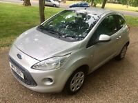 Ford KA 2011 1.2L Silver With Start/Stop 2 Owners From New Full Service History 12 Months Mot