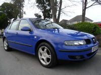 SEAT LEON 1.9 TDi DIESEL 2003 HPI CLEAR COMPLETE WITH M.O.T DRIVE AWAY TODAY