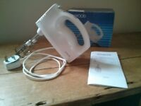 KENWOOD POWER-FIVE Model HM300 Hand-Held MIXER: complete with BOX & INSTRUCTIONS: AS NEW CONDITION