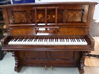 Upright Piano Barnes (Free Local Delivery) Paddock Wood Kent