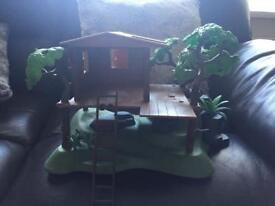 Playmobile tree house immaculate condition