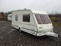 Abi herald 4 berth 16/17 ft 2000 model Electric heating system hot cold running water 3 way fridge