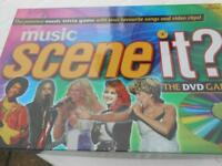 Music Scene it? The DVD Board game excellent condition £5.00