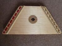 Beautiful Child's Lap Harp (zither)
