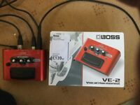 Boss VE-2 Vocal Harmonists Pedal