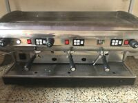 Coffee Machine CMA Lisa with knock box and grinder