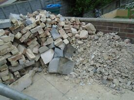 hardcore bricks rubble