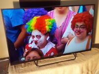 Sony Bravia 43 Inch 3D Full 1080p LED TV With Freeview HD (Model KDL-43W805C)!!!