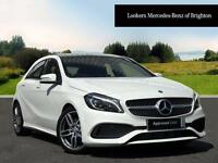 Mercedes-Benz A Class A 220 D AMG LINE PREMIUM PLUS (white) 2016-05-04