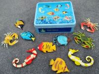 Early learning centre Tin of ocean creatures
