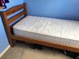 Single Bed & Silentnight Mattress For Sale
