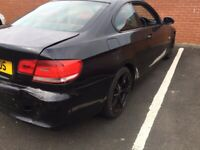 BMW 320D Coupe Damage Repairable