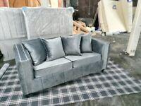 Plush velvet Sofa Sets in just £395 .. Offer 06