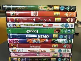 Disney DVDS/Wii Games