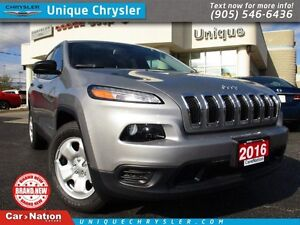 2016 Jeep Cherokee Sport | 4X4 | HEATED SEATS | 0% UP TO 84M |