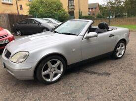 Mercedes-Benz, SLK, Convertible, 2000, Semi-Auto, 1998 (cc), 2 doors