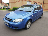 2005 CHEVROLET LACETTI 5DR HATCHBACK 1.6 AUTOMATIC. A/C WARRANTED MILEAGE