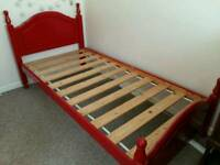 Single bed and Trundle bed
