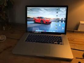 "MacBook Pro 15"" 2.8 GHZ - 128GB SSD upgraded - 4GB DDR 3 Ram -"