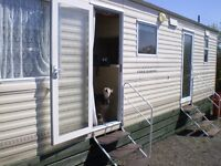 LAST MINUTE CANCELLATION! Holiday caravan to let, near Bude , Cornwall.