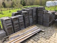 Large quantity of modern marley roof tiles