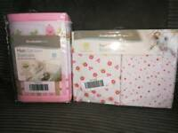 Breathable baby cot bumpers