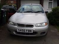 ROVER 200 - AUTOMATIC - 1.6L - LADY OWNER - 68000 MILES - VERY GOOD CONDITION - MOT AND ROAD TAX