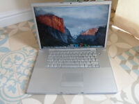 "APPLE MACBOOK PRO 17"" NICE FAST MACHINE WITH SSD DRIVE ,MICROSOFT OFFICE , LOGIC PRO X ETC"