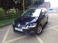 Volkswagen Sharan Sel TDi Dsg Semi-Automatic Diesel 0% FINANCE AVAILABLE