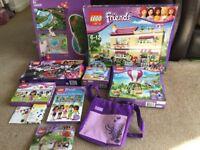 Lego Friends Bundle 3315, 41107, 41097, Playmat, Books, Bag, 40266, 30105