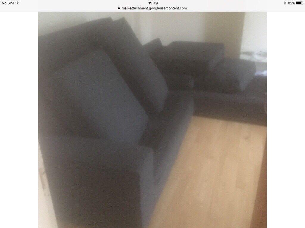IKEA Grey Corner Sofa - ONO