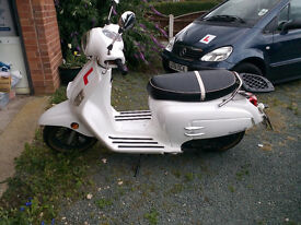 WK Bellissima scooter