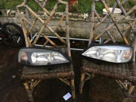 VAUXHALL HEADLIGHTS ASTRA HEADLIGHTS MK 4 ASTRA WING