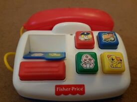Fisher Price (Old Style!) Telephone