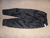 Motorbike Weatherproof Over Trousers. SPADA Brand. Medium.