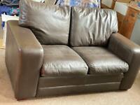 Fabulous 2 seater leather sofa
