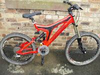 specialized bighit downhill bike